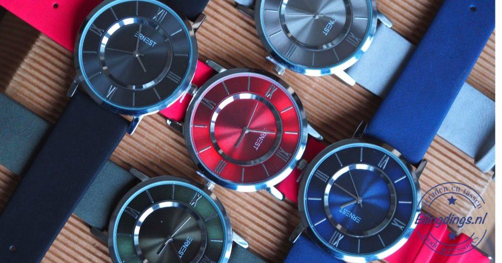 heren quartz horloge - dames quartz horloge