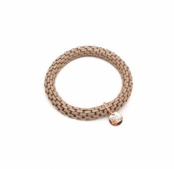 Biba metalen armband-bruin