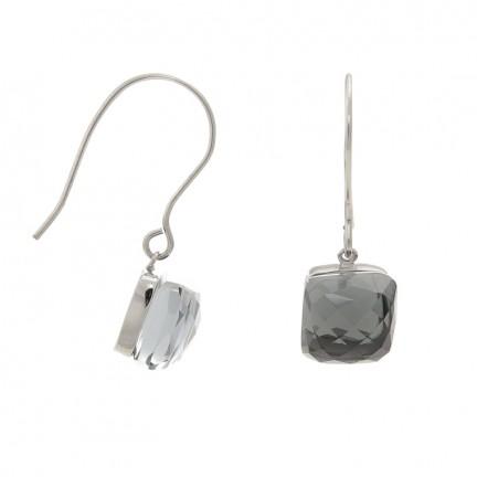 Viva luxury oorhanger steen- black diamond