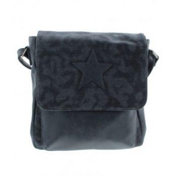 Crossbody tas dames donkerblauw met ster merk A-zone