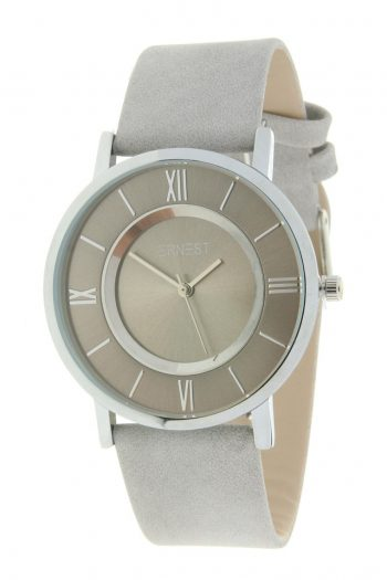 Stijlvol horloge dames   gekleurd- grijs merk Ernest