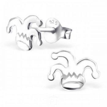Zilveren oorbellen hoed