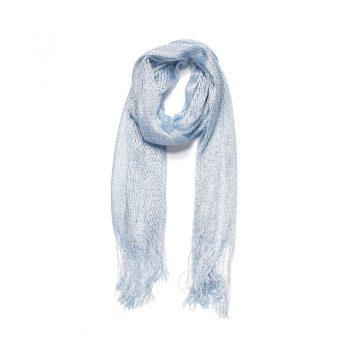 Licht blauwe lange sjaal Biba