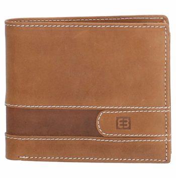 Lederen portemonnee bruin Enrico-Benetti 6 pasjes