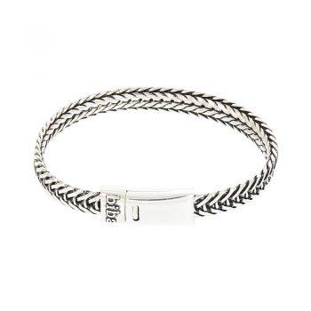 Biba metalen armband met V schakel