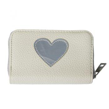 Een trendy portemonnee-creme met hart