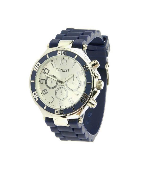 Ernest horloge sport unisex  blauw