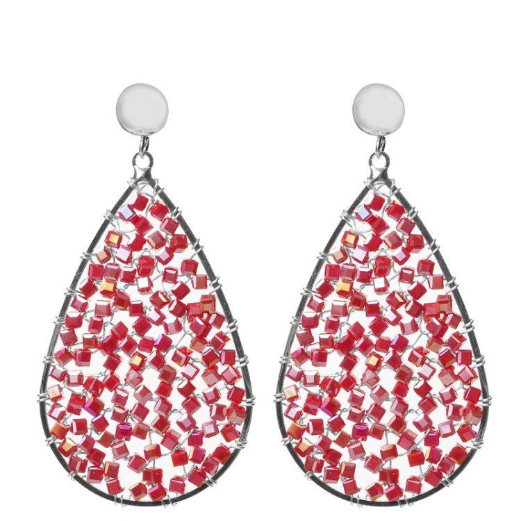 Biba-oorbellen-crystal-kraaltje-donker-rood-80901mix8