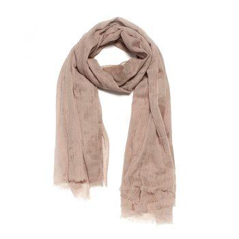 Biba sjaal beige extra lang model