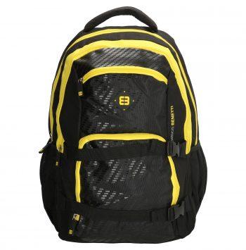 Enrico Benetti zwart-geel - laptop rugtas