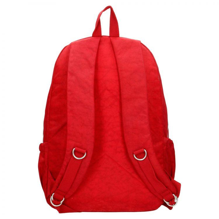 62034-017_Enrico Benetti nylon rugzak rood achterkant