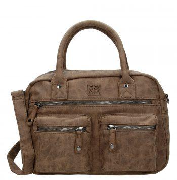Westernbag Enrico Benetti bruin schouder- of handtas