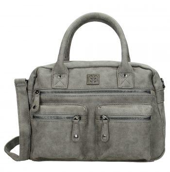 Westernbag Enrico Benetti grijs schouder- of handtas
