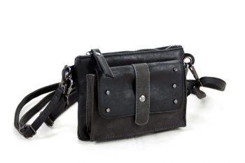 070138258bd Stoer schouder- heuptasjes zwart met studs ...