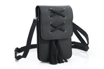 Telefoontasje - heuptasjes kleur zwart