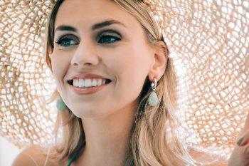 Viva Jewellery creolen met steen