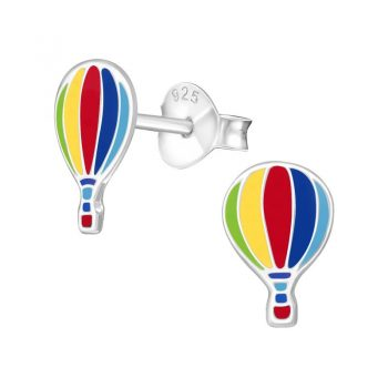 Luchtballon oorbellen sterling zilver 925