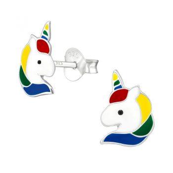 Eenhoorn kinderoorbellen in vrolijke kleuren