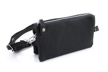 Clutch - heuptasje - schoudertasje zwart