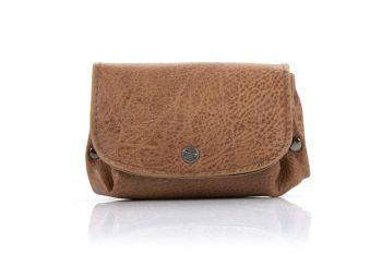 Kleine portemonnee camel - bruin