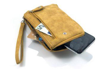 Portemonnee met telefoonvak voor je iPhone of Samsung