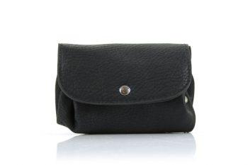 Zwarte kleine portemonnee buidel