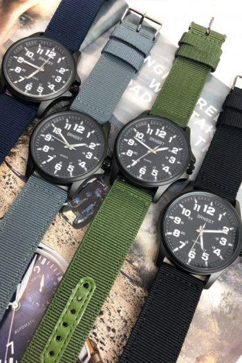 Ernest stoer heren horloge verschillende kleuren