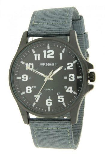 Ernest stoer heren horloge grijs
