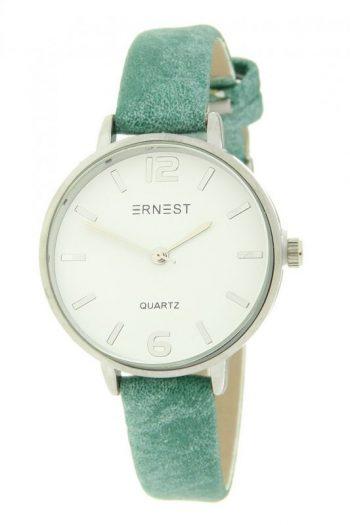 Quartz horloge 30 mm klok groen