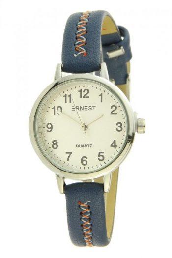 Ernest horloge stitch mini blauw