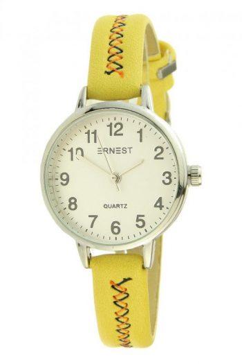geel horloge voor kinderen en vrouwen