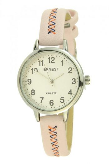 Ernest horloge stitch mini roze