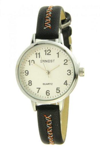 Ernest horloge stitch mini zwart