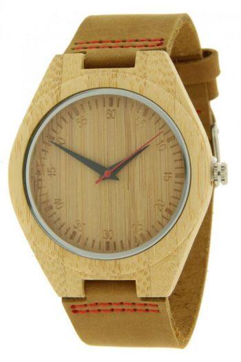 Houten horloge ernest
