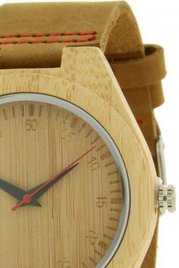 houtej horloge detail merk ernest