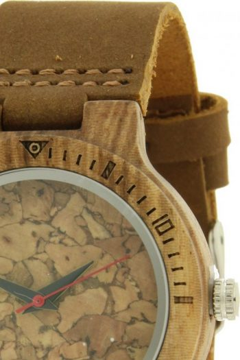 Ernest houten horloge-bruin band 36 mm