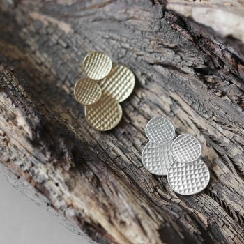 Biba zilverkleurige oorsteker nikkelvrij metaal