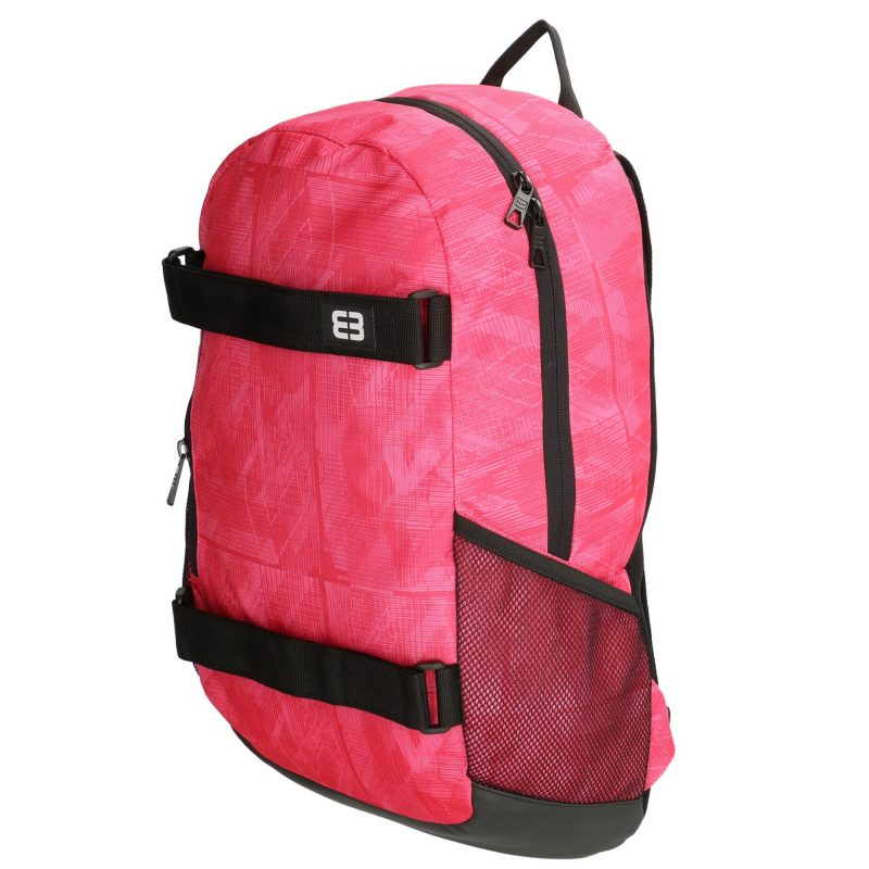 details voor uitstekende kwaliteit meer foto's Enrico Benneti roze rugzakken met laptopvak 14 inch - BlingDings