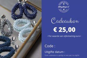 Blingdings cadeaubon € 25