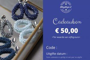 Blingdings cadeaubon € 50,00