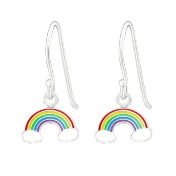 Kinderoorhangers gekleurde regenboog in mooie kleuren
