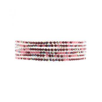 Biba armbanden roze tinten set - 6 stuks