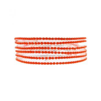 Biba armbanden rood tinten set - 6 stuks