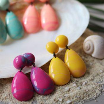 Biba grote oorbellen - zoek jij gekleurde sieraden?