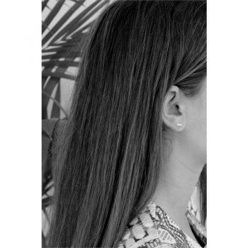 Lilly zilveren oorbellen infiniy - oneindig