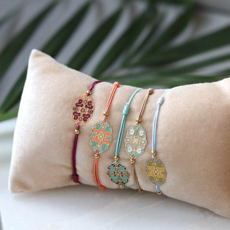 Biba elastieke armbandjes met fantasie afbeelding