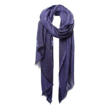 Biba sjaal paarse visgraat sjaal