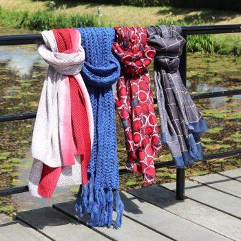 Sjaals voor binnen en buiten Biba -Lot83