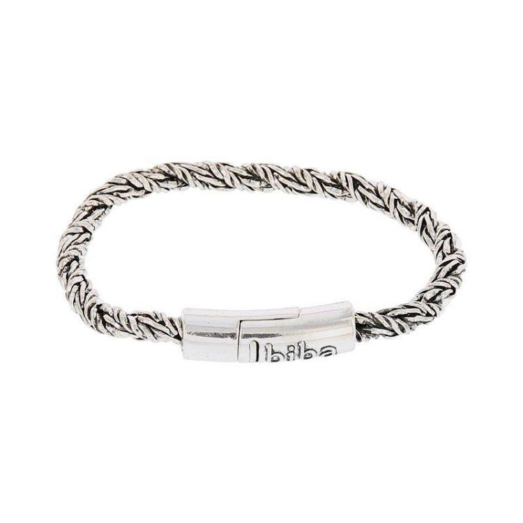 Biba metalen armband met rond 19,5 cm